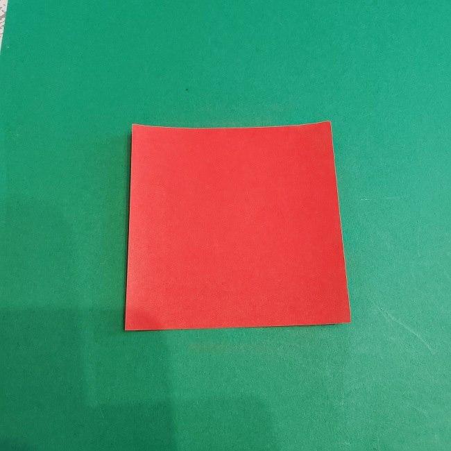 セーラームーンの折り紙ドレス(制服)*用意する折り紙 (2)