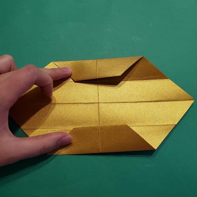セーラームーンティアラの作り方(折り紙) (12)
