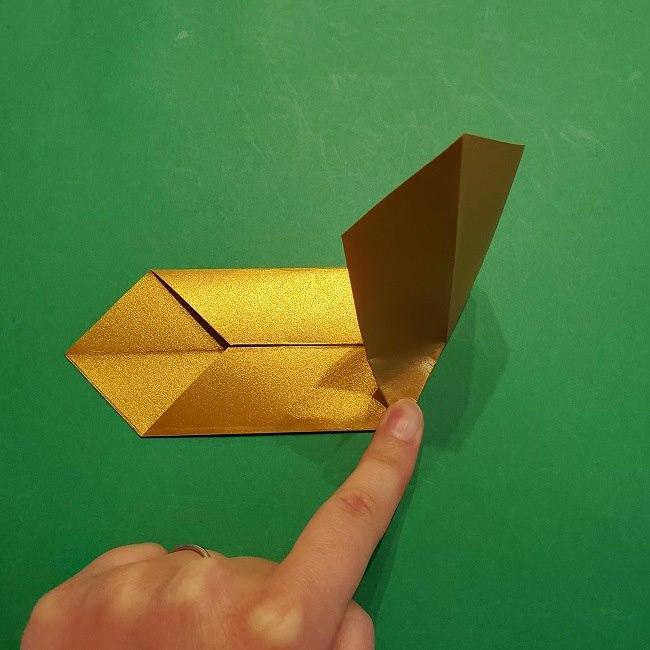 セーラームーンティアラの作り方(折り紙) (14)