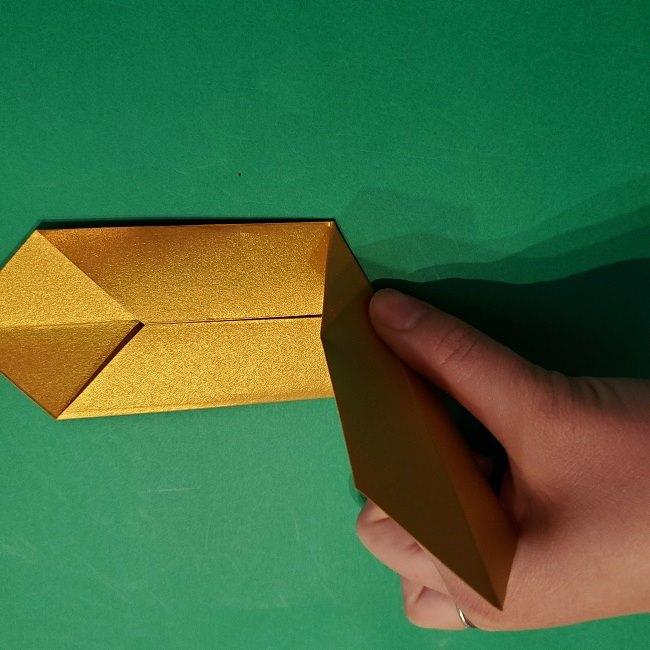 セーラームーンティアラの作り方(折り紙) (16)