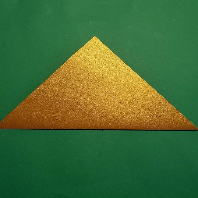 セーラームーンティアラの作り方(折り紙) (2)
