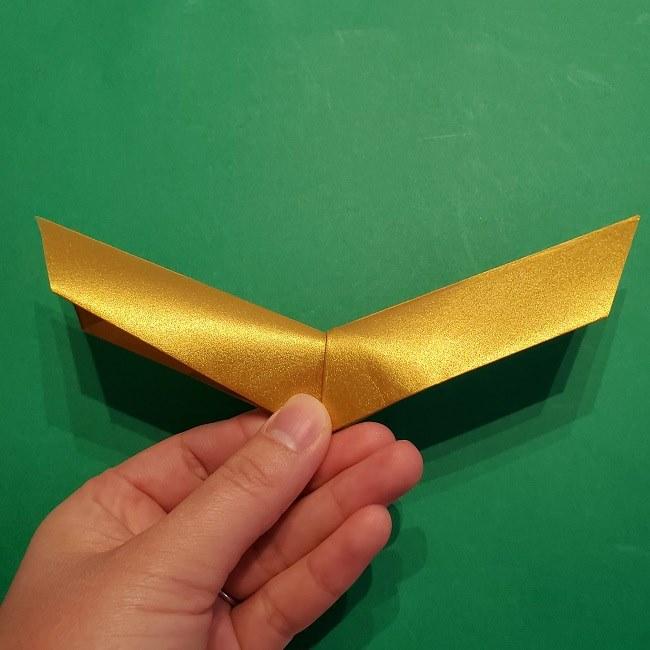セーラームーンティアラの作り方(折り紙) (20)