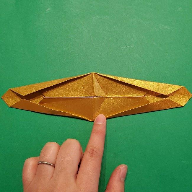 セーラームーンティアラの作り方(折り紙) (22)