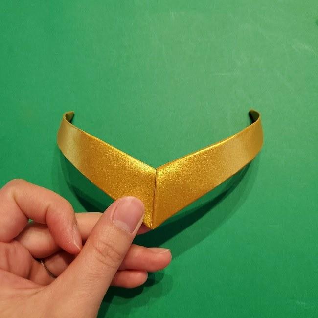 セーラームーンティアラの作り方(折り紙) (25)