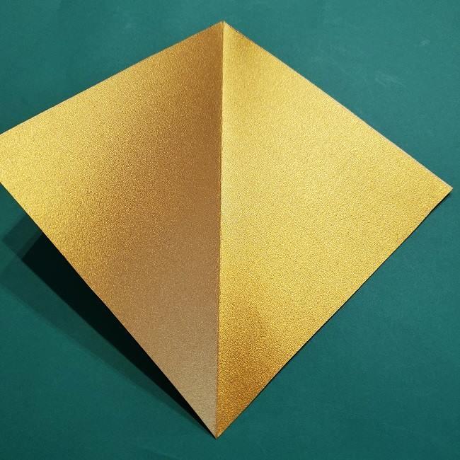 セーラームーンティアラの作り方(折り紙) (3)