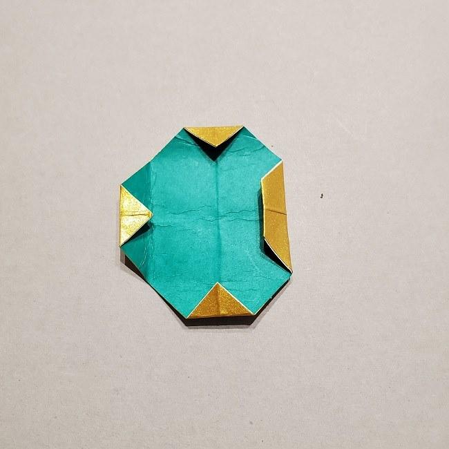 セーラームーンティアラの作り方(折り紙) (34)