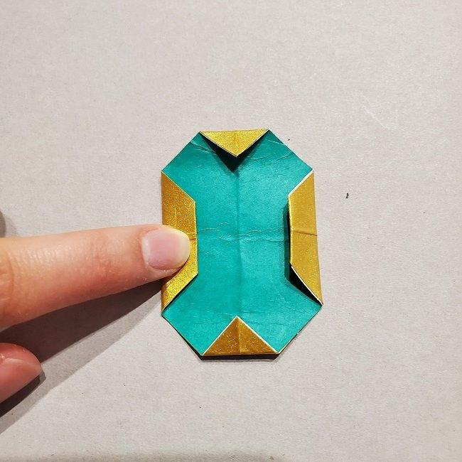 セーラームーンティアラの作り方(折り紙) (35)