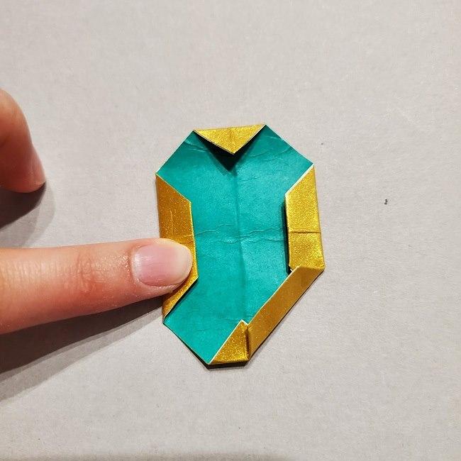 セーラームーンティアラの作り方(折り紙) (36)
