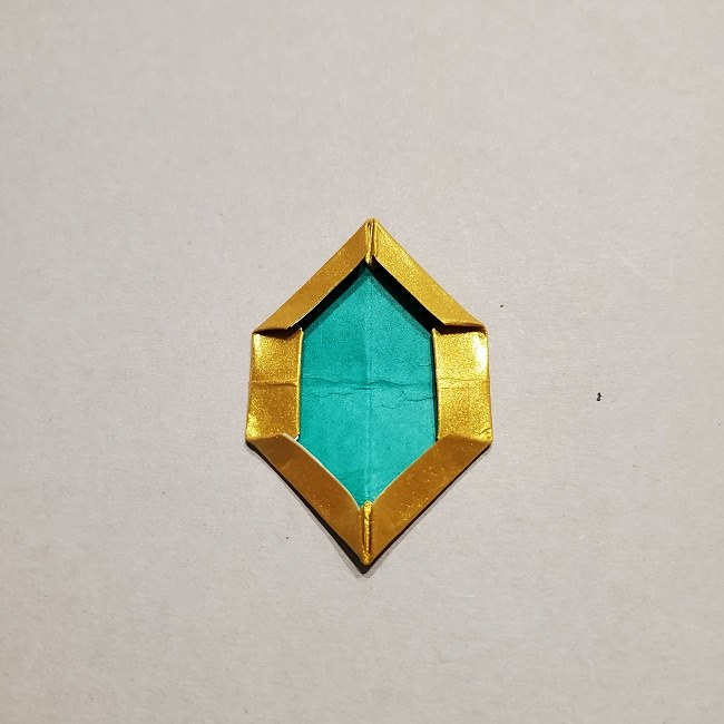 セーラームーンティアラの作り方(折り紙) (37)