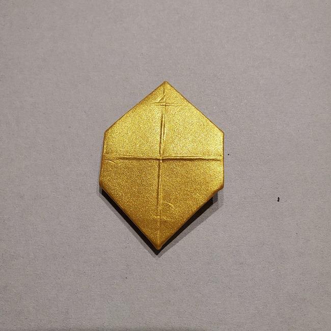 セーラームーンティアラの作り方(折り紙) (38)