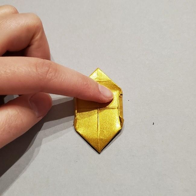 セーラームーンティアラの作り方(折り紙) (39)