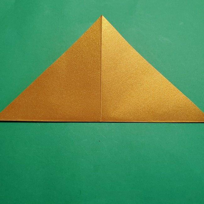セーラームーンティアラの作り方(折り紙) (4)
