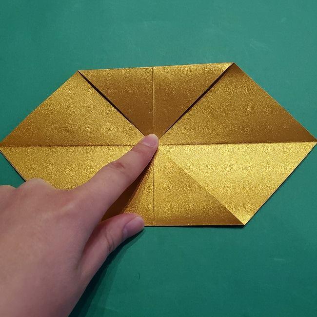 セーラームーンティアラの作り方(折り紙) (6)