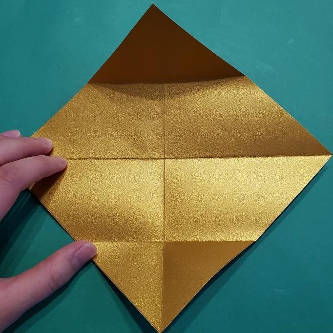 セーラームーンティアラの作り方(折り紙) (7)