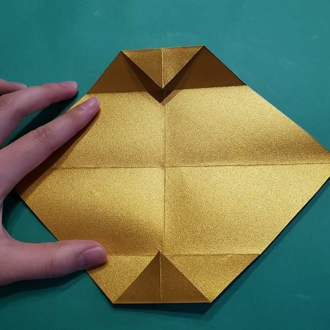 セーラームーンティアラの作り方(折り紙) (8)