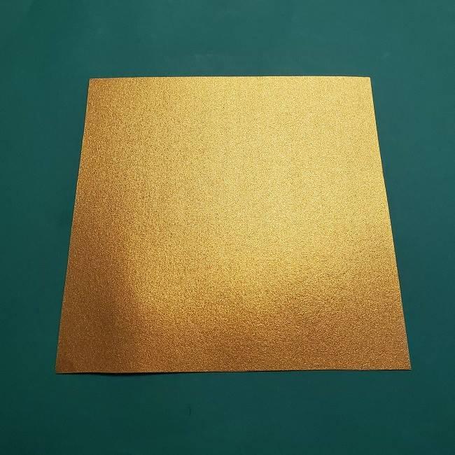 セーラームーンティアラを自作★用意する折り紙 (1)