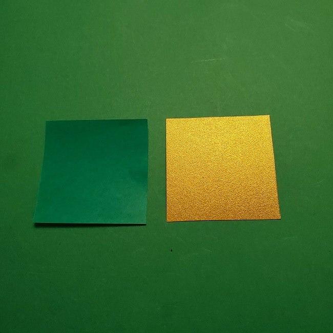 セーラームーンティアラを自作★用意する折り紙 (2)