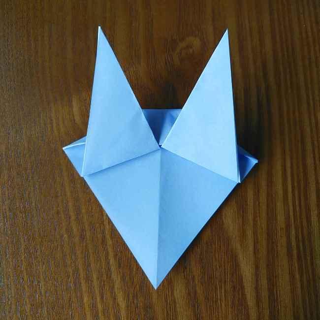 セーラームーン ルナの折り紙*折り方作り方 (8)