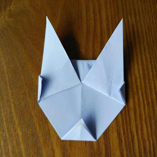 セーラームーン ルナの折り紙*折り方作り方 (9)
