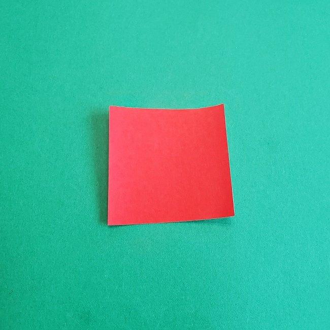 トトロのきのこの折り紙 (1)