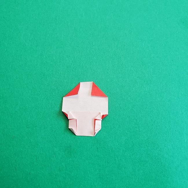 トトロのきのこの折り紙 (12)