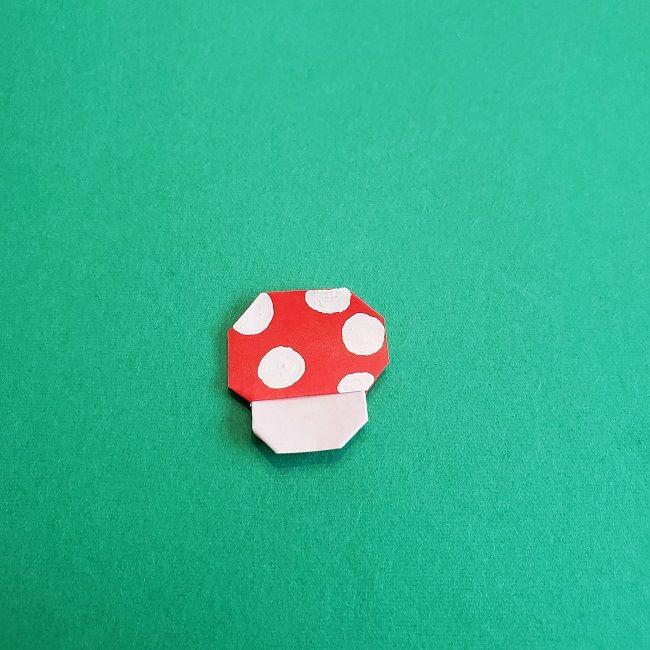 トトロのきのこの折り紙 (15)