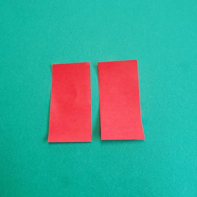 トトロのきのこの折り紙 (2)