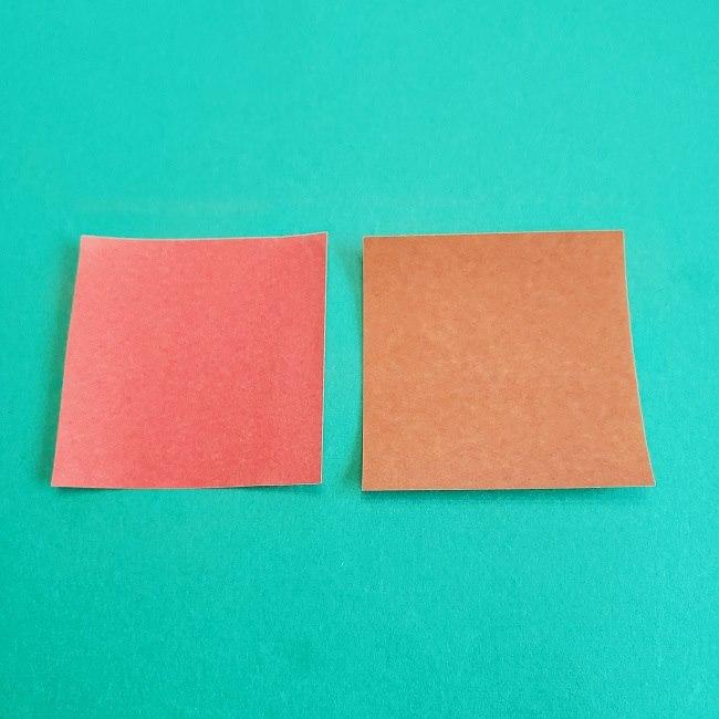 トトロのどんぐりの折り紙 (1)