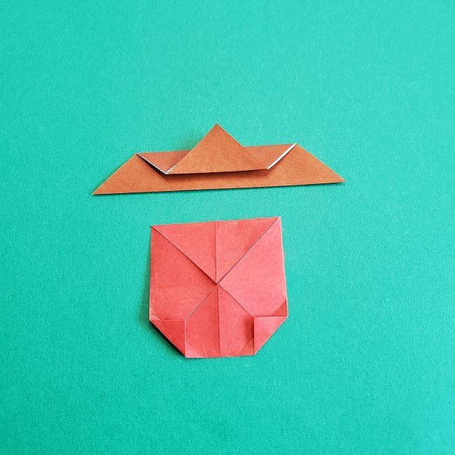 トトロのどんぐりの折り紙 (12)