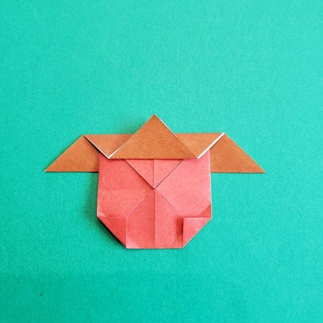 トトロのどんぐりの折り紙 (13)