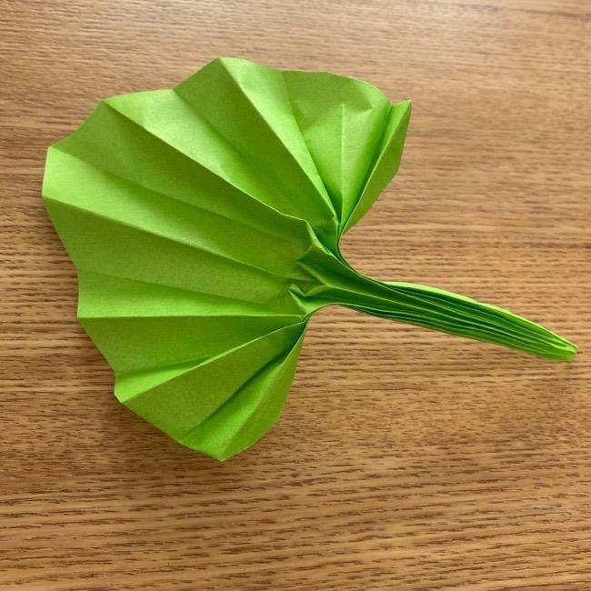 トトロの葉っぱの折り紙『傘』を簡単に手作り☆年長さんからつくれる折り方作り方を紹介!