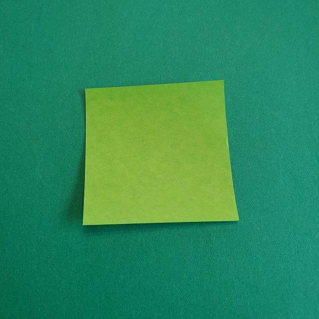 トトロの葉っぱの折り紙 (1)