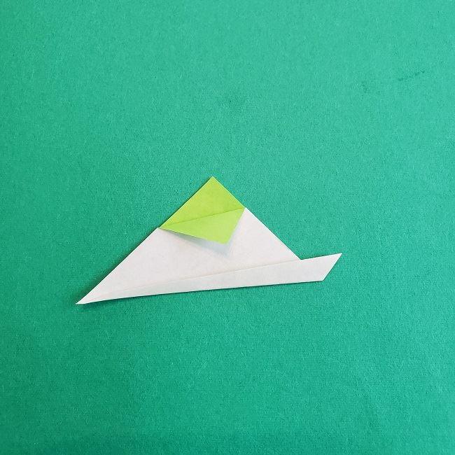 トトロの葉っぱの折り紙 (4)