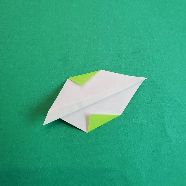 トトロの葉っぱの折り紙 (6)