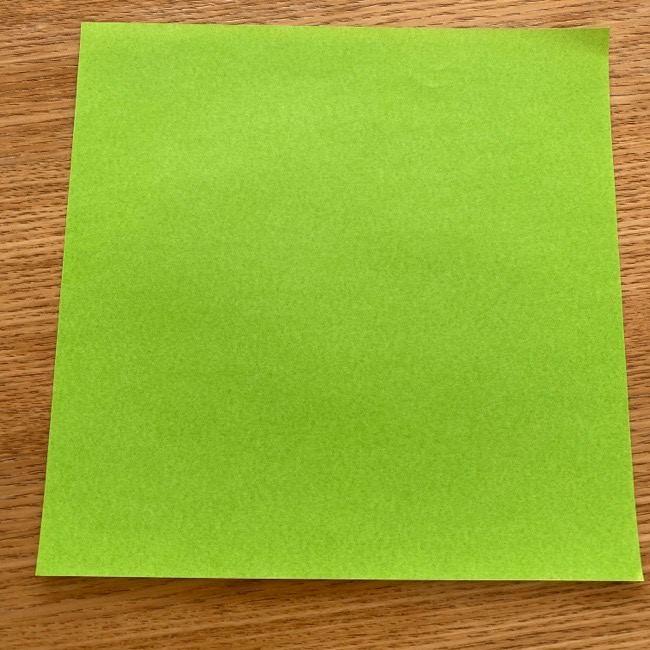 トトロの葉っぱの折り紙*用意する物