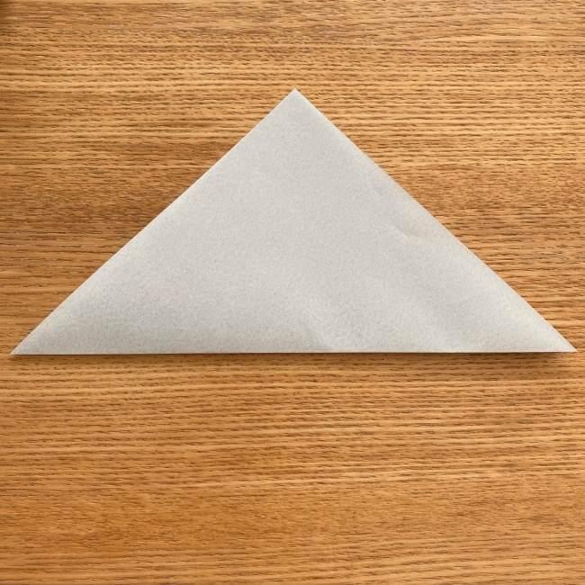 トトロ 折り紙の指人形の作り方折り方 (2)