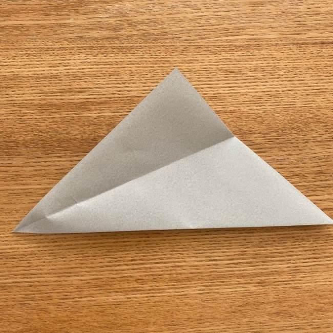 トトロ 折り紙の指人形の作り方折り方 (4)