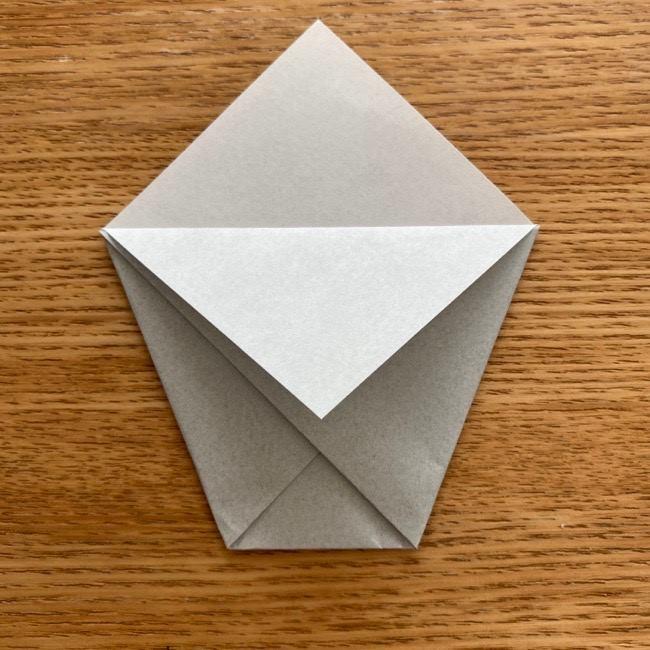 トトロ 折り紙の指人形の作り方折り方 (7)