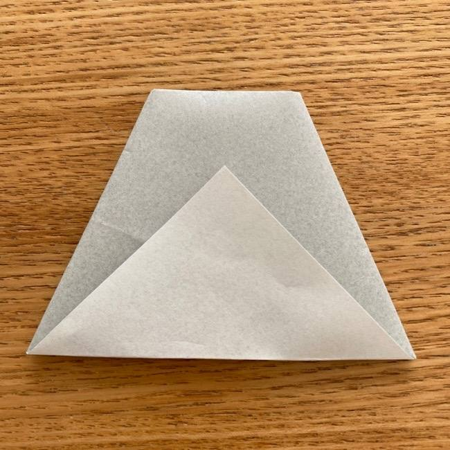 トトロ 折り紙の指人形の作り方折り方 (9)
