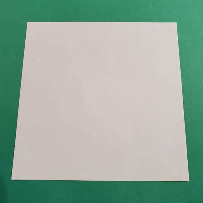 ヒバニーの折り紙の折り方*必要なものと材料(1)
