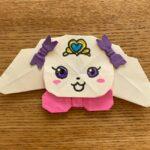 プリキュアのラテ★折り紙の折り方作り方★簡単かわいいふわふわのキャラクター