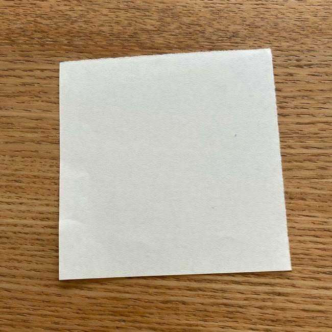 プリキュアのラテ 折り紙の折り方作り方 (1)