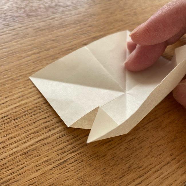 プリキュアのラテ 折り紙の折り方作り方 (11)