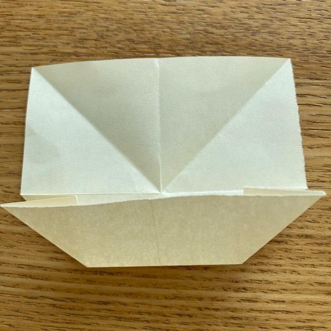 プリキュアのラテ 折り紙の折り方作り方 (13)