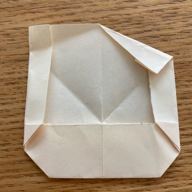 プリキュアのラテ 折り紙の折り方作り方 (15)