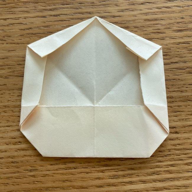 プリキュアのラテ 折り紙の折り方作り方 (16)