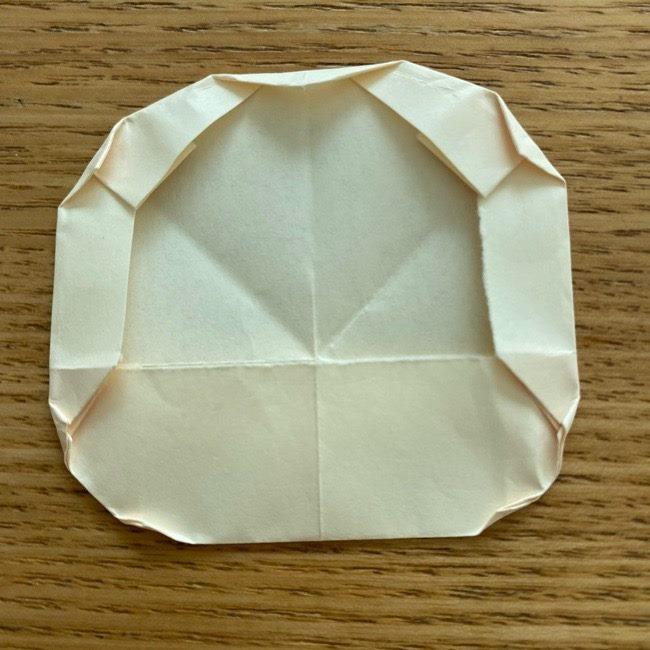 プリキュアのラテ 折り紙の折り方作り方 (17)