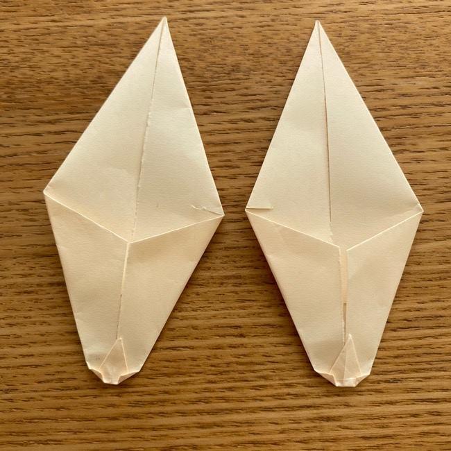 プリキュアのラテ 折り紙の折り方作り方 (27)