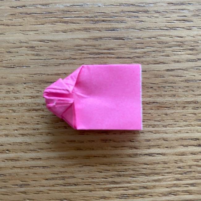 プリキュアのラテ 折り紙の折り方作り方 (49)