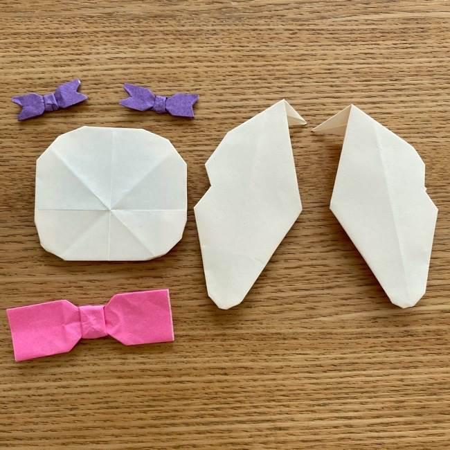 プリキュアのラテ 折り紙の折り方作り方 (59)